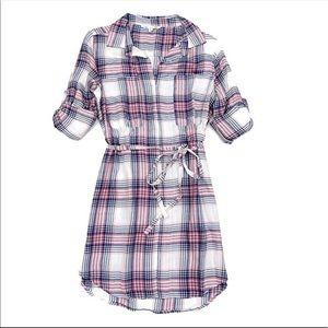 C&C California | Plaid Shirt Dress NWT | XS